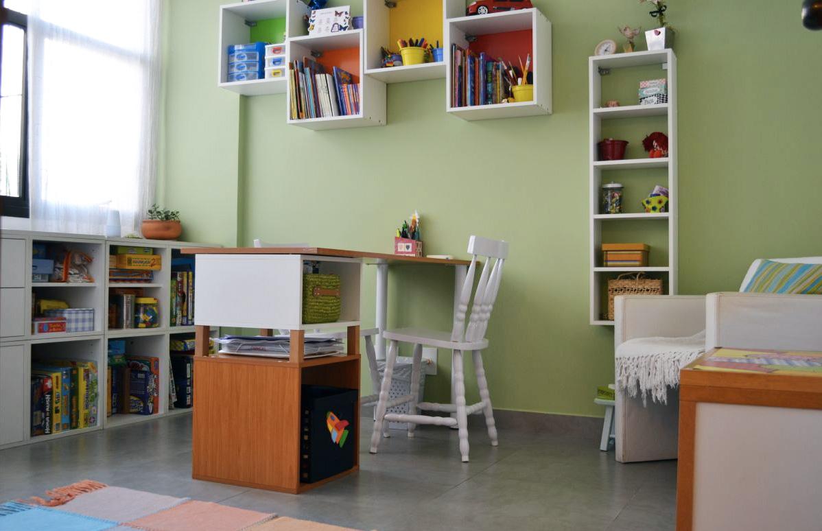 Sala de atendimento infantil